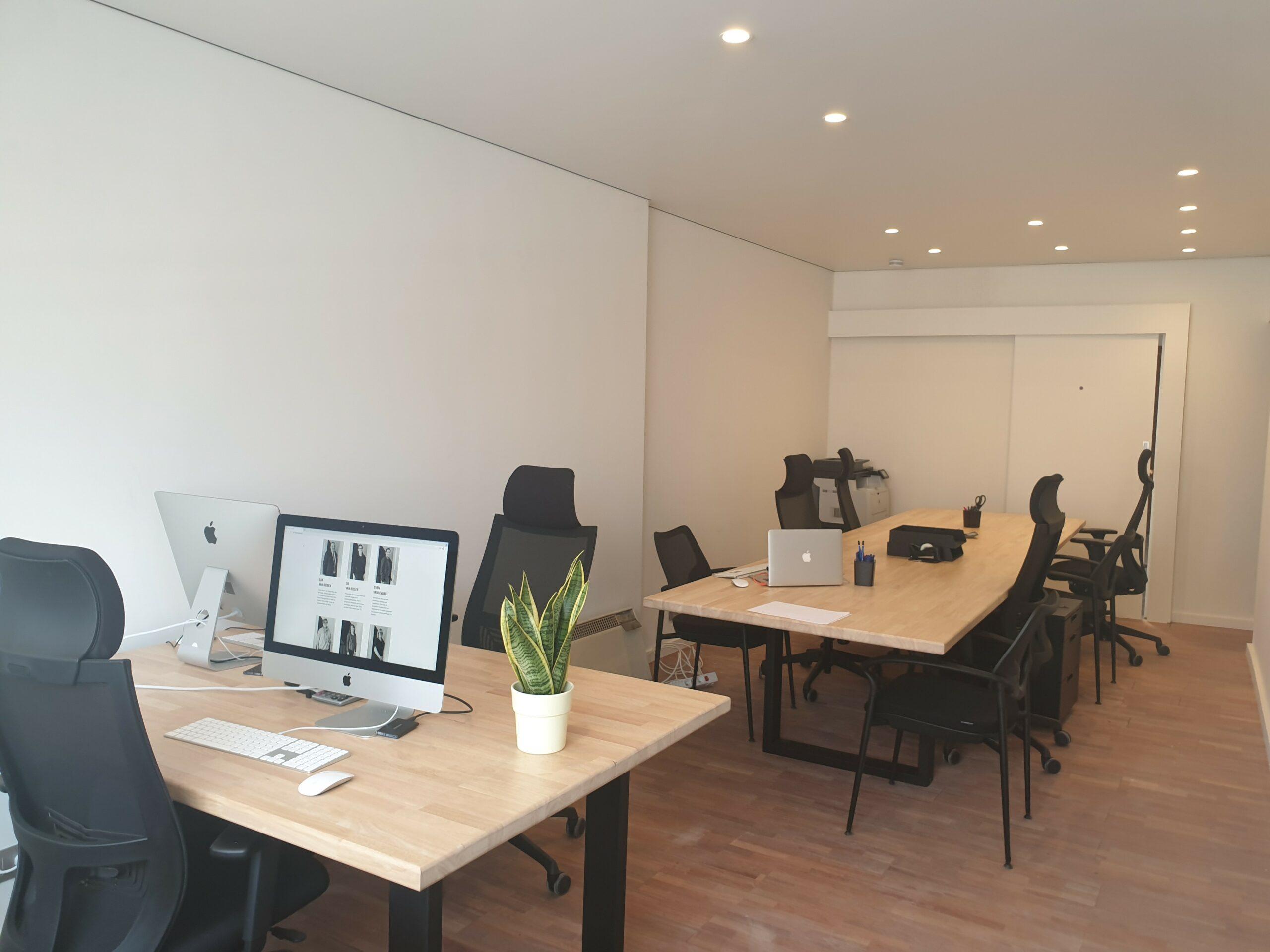 Kom co-worken in ons nieuwe kantoor in Hofstade!